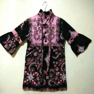 3/4 Sleeve Batik Tunic
