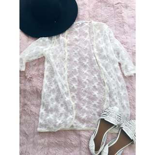 Lace Jacket Oneoneseven Festival