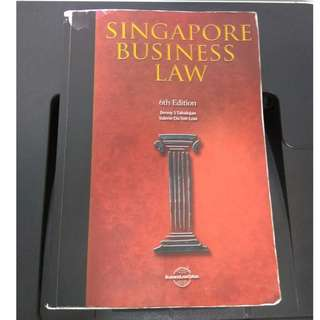AB1301 Singapore Business Law 6th Edition