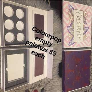 COLOURPOP EMPTY PALETTES