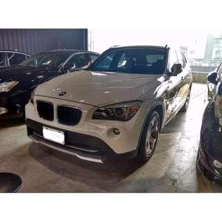 2012年 BMW X1 白色 2.0 可全額貸