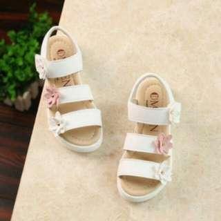 White Foral Sandal (BN)
