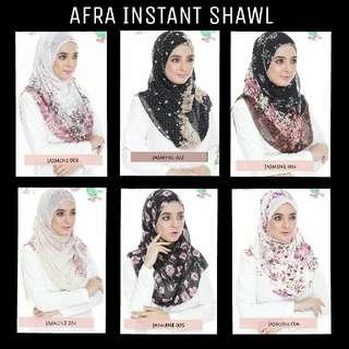 AFRA INSTANT SHAWL