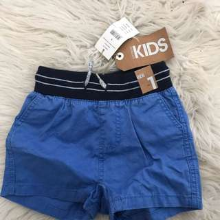 Boys Shorts Size 1 Never Worn