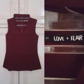 Love & Flair Top // Atasan Wanita