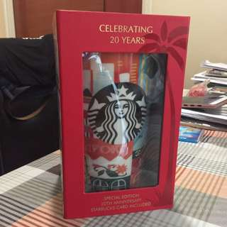 Starbucks 20th Anniversary Singapore Cup (limited ed)