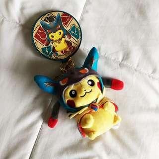 Pikachu Mega Lucario Pokemon Toy Doll