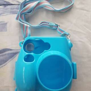 Instax mini7s (Colourful Protect Case In Blue)