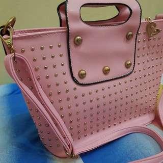 Studded Chic Handbag/Slingbag