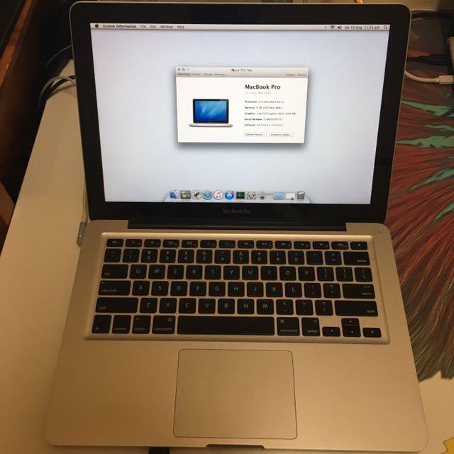 """13"""" Macbook Pro (2012)"""