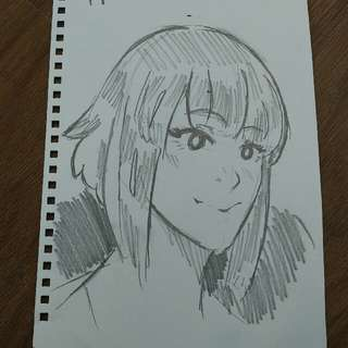 Simple Headshot Sketch