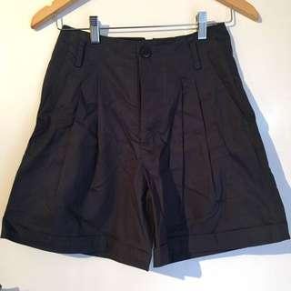 Gorman Navy High Waisted Shorts Size 6