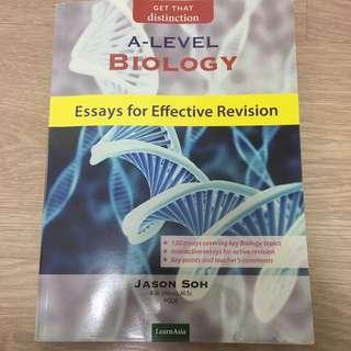 H2 Biology Essay Get That Distinction