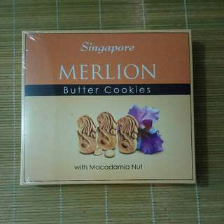 [全新]新加坡魚尾獅奶油餅乾