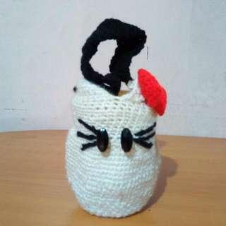 Crochet Small Tumbler Holder