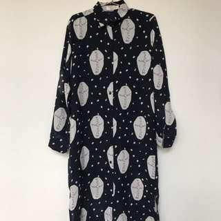 Vicky's Room Dress Print
