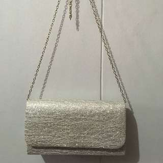 Unbranded Silver Clutch Bag