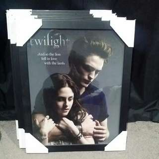 Twilight Framed Pictures New In Boxes