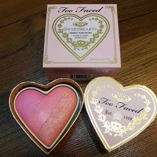 BNIB Too Faced Sweethearts Blush - Candy Glow