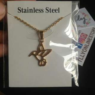 Bird Stainless Steel Necklace Free Shipping For Metro Manila