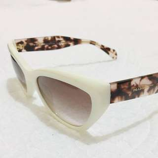 Authentic Prada Sunglasses White POEME