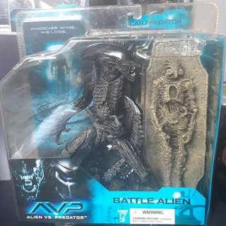 Mcfarlane AVP Battle Alien