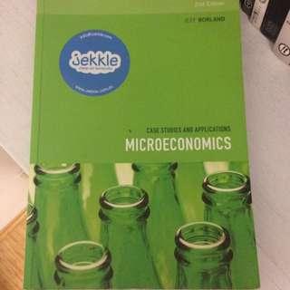 Microeconomics Textbook 2nd Edition (USYD)