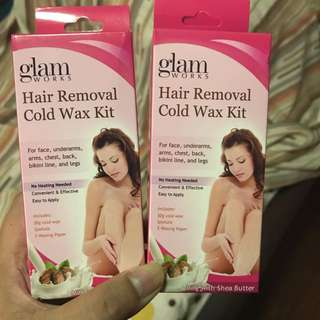 GLAM HAIR REMOVAL COLD WAX KIT