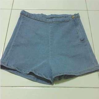 AA Inspired High Waist Shorts