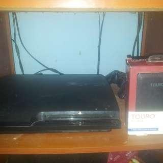PS 3 Slim CFW 120Gb + Hardisk Eksternal 500Gb Full Games