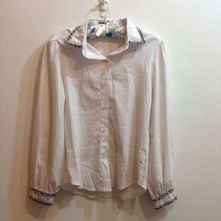 🚚 氣質白襯衫