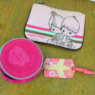 Benefits & Precious Moments - Cosmetic Pouch