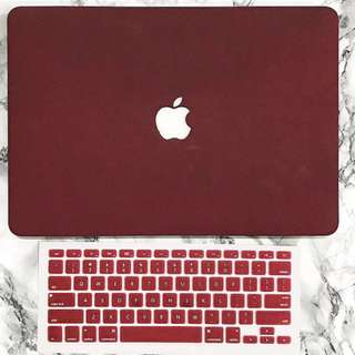Red Wine MacBook Case