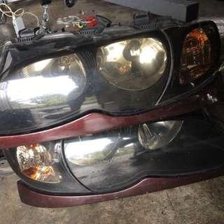 Lampu Bmw E46 Fecelit
