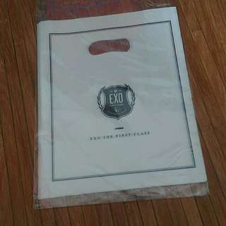EXO Official The First Class Plastic Bag (Small)