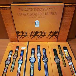 Watch: The Swatch Centennial Olympic Games Collection