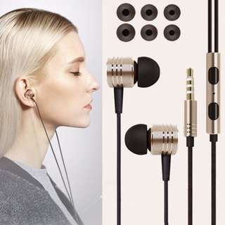 Subwoofer Earphones With remote MIC