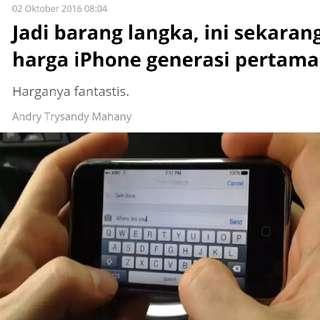 iPhone 3 8GB GSM 2G 💯% original [RePrice]