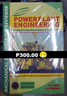 Power Plant Engineering (ME Reviewer)