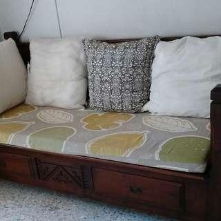 Teak antique Sofa Bed