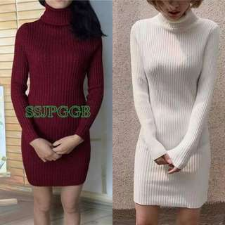 Knitted bodycon dress y081420