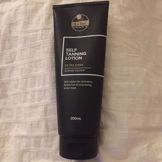 Le Tan Ultra Dark Lotion