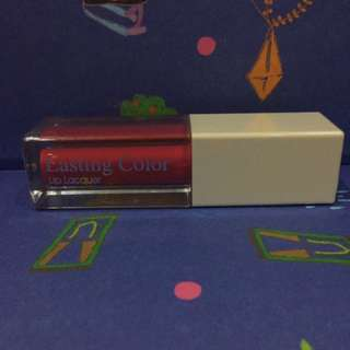 Lasting Color Lip Lacquer 01 International Red