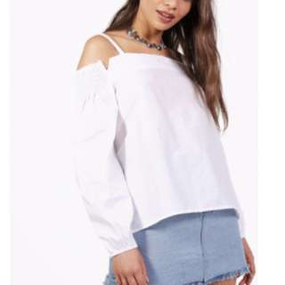 Boohoo Off Shoulder Top