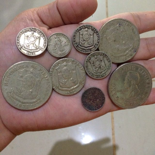 1967-1970's Phil Coins