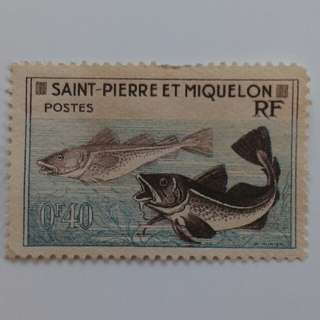 Saint-Pierre And Miquelon Stamp.  Please Make An Offer.