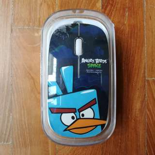BNIB Angry Birds Optical Mouse