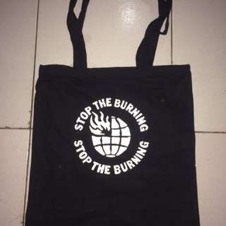 Tote Bag Black With logo
