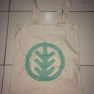 Totebag Cream With Logo