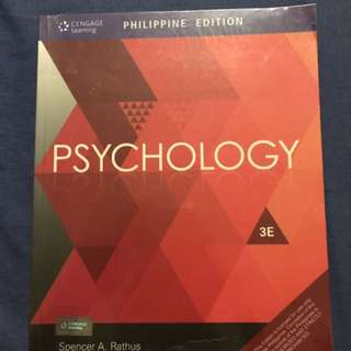 Psychology By Rathus